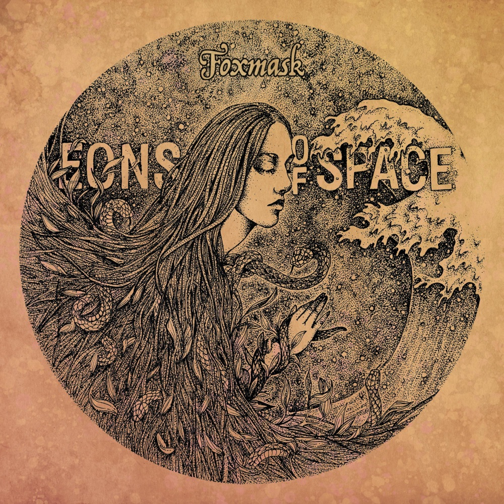 Foxmask Eons of Space EP Cover
